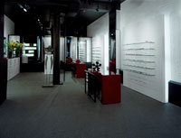 The Artsee Eyewear interior