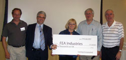 FEA Industries Wins 2007 Corning SunSensors Contest